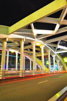 Free Sectional Bridge Royalty Free Stock Image - 8268866