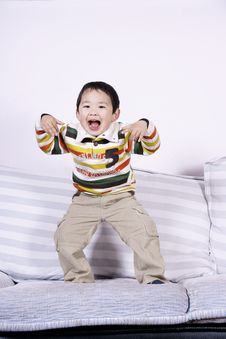 Free Boy Playing Role Stock Images - 8269054