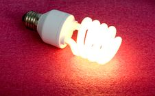 Free Energy-saving Lamp Royalty Free Stock Photos - 8270408