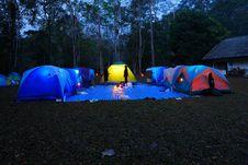 Free Tent Camping Stock Photos - 8271063