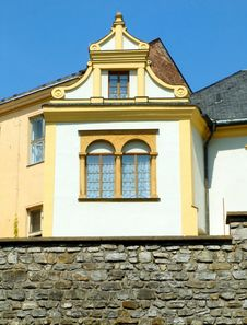 Historical Window Royalty Free Stock Photography