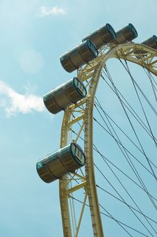 Free Cabins Of Observation Wheel Royalty Free Stock Images - 8271489