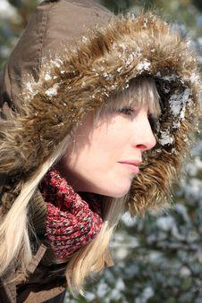 Free Winter Lady Stock Photos - 8272413