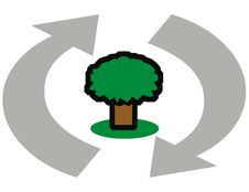 Recycle Illustration Stock Image