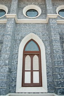 Free Gothic Style Window. Royalty Free Stock Photography - 8273407