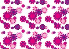 Flower Seamless Pattern - Vector Image Stock Photo