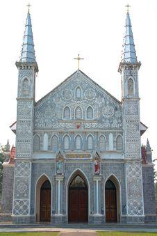 Gothic Style Church. Stock Photos