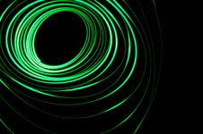 Free Abstract Glowing Physiogram Stock Photography - 8274042