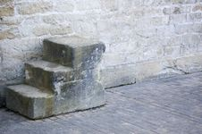 Mounting Block Royalty Free Stock Photography
