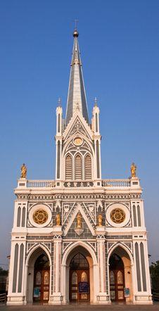 Free Gothic Style Church. Stock Photo - 8274460