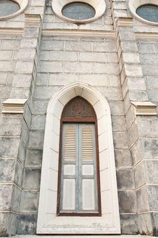 Free Gothic Style Window. Stock Image - 8274651