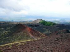 Etna Landscape Royalty Free Stock Photos