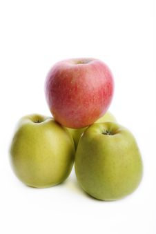 Free Green And Red Apples Royalty Free Stock Photos - 8274988
