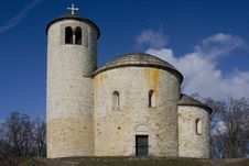 Free Romanesque Chapel Stock Image - 8275121