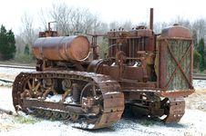 Free Antique Bulldozer Stock Images - 8275194