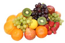Free Isolated Fruits Stock Image - 8275681