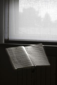 Free Notebook Of Music Stock Photos - 8275793