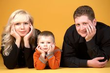 Free Family Portrait Stock Images - 8275874