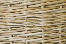 Free Close Up Wicker Basket Background Stock Images - 8275914