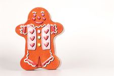 Free Gingerbread Cookie Tin Stock Photo - 8276880