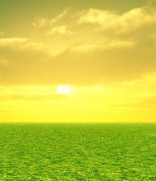 Free Beautiful Sunset Stock Image - 8276891