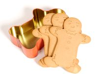 Free Gingerbread Cookie Stock Image - 8276921