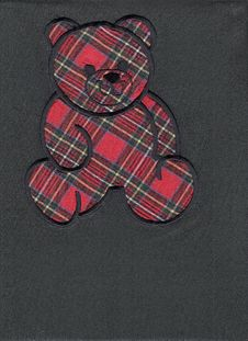 Scottish Teddy Bear Royalty Free Stock Image