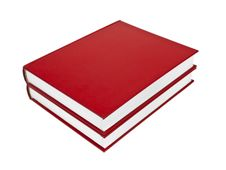 Free Red Books Stock Image - 8277211