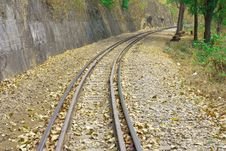 Free Death Railway. Royalty Free Stock Photography - 8277527