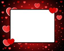 Free Love Frame Royalty Free Stock Photos - 8277548