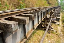 Free Death Railway. Royalty Free Stock Image - 8277646