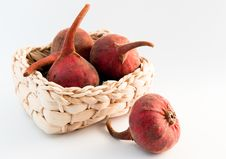 Free Fresh Figs In A Basket Stock Photography - 8278092