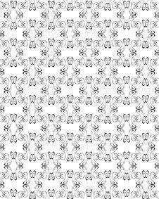 Free Seamless Damask Pattern Royalty Free Stock Photo - 8278325