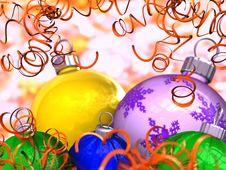 Free Colour Balls Royalty Free Stock Photo - 8279035