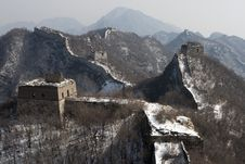 Free Great Wall Royalty Free Stock Photography - 8279607