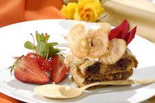 Free Luxurious Dessert Royalty Free Stock Photos - 8279668