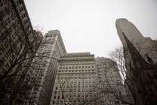 Free New York City Highrise Royalty Free Stock Images - 8279749