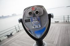 Free Tourist Coin Operated View Meter Royalty Free Stock Photography - 8279977