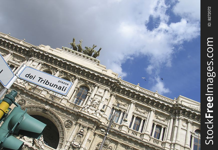 Rome: the palace of justice