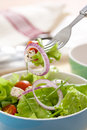 Free Salad With Greens Stock Images - 8284694