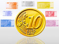 Free Coin An Euro Stock Images - 8286344