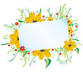 Free Floral Frame Royalty Free Stock Images - 8287389