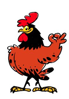 Free Proud Smiling Rooster Stock Images - 8280204