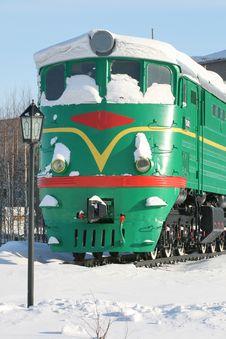 Free Diesel Locomotive Royalty Free Stock Photo - 8280355
