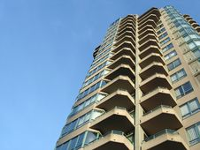 Free Highrise Apartment Building Royalty Free Stock Image - 8280356