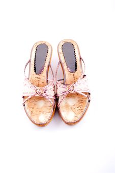 Women Summer Shoes Royalty Free Stock Image