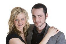 Free Happy Couple Royalty Free Stock Photography - 8280667