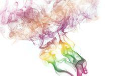 Colorful Smoke Royalty Free Stock Photos