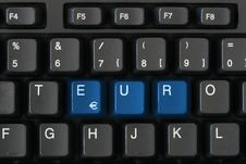 Free Keyboard EXIT Stock Photography - 8281132