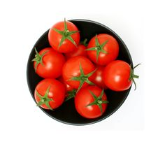Free Tomatoes From Above Royalty Free Stock Image - 8281666
